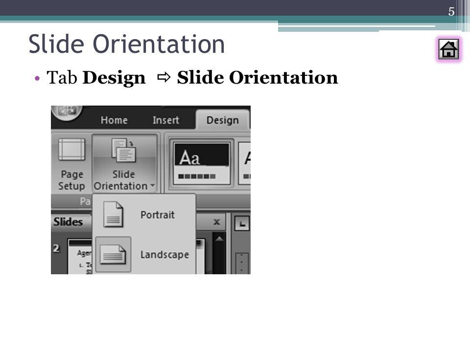 6 Menambah Slide Tab Home  New Slide atau Klik kanan slide  New Slide Pilih jenis yang diingini atau