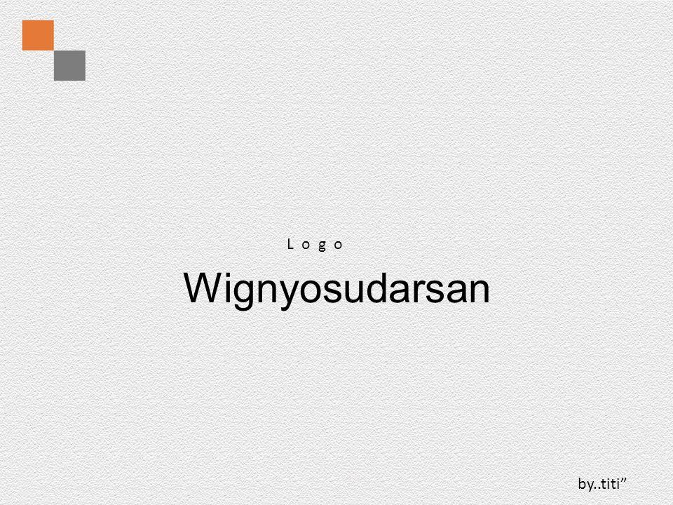 L o g o Wignyosudarsan by..titi