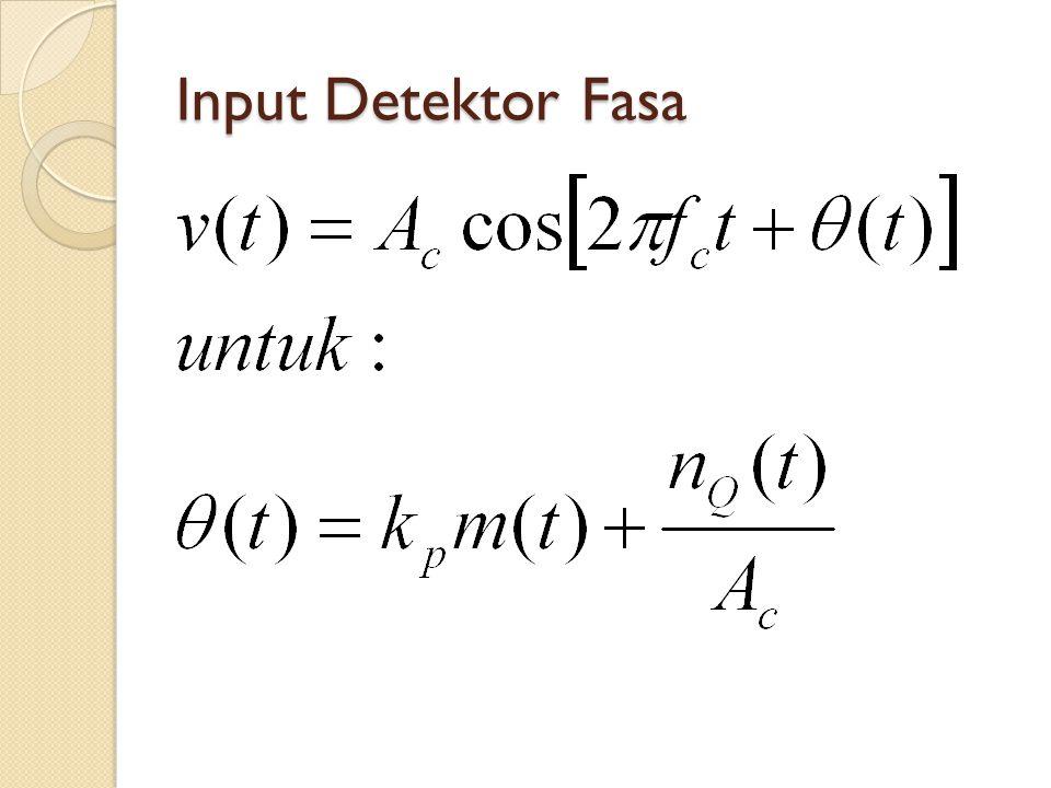 Input Detektor Fasa