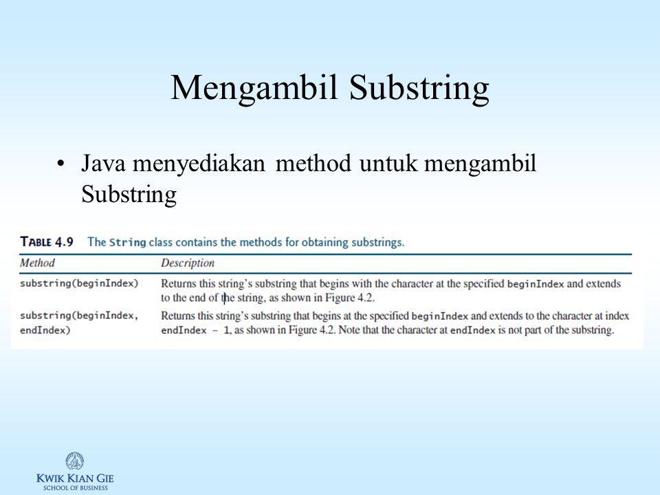 Latihan membandingkan 2 string 1.Buat source code Java, gunakan method equal() & equalIgnoreCase() untuk membandingkan string 1.String s1 =