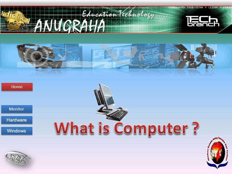 Welcome To Program Digital Anugraha S.Pd Welcome To Aba Tarakan Technology Education Monitor Hardware Windows Home