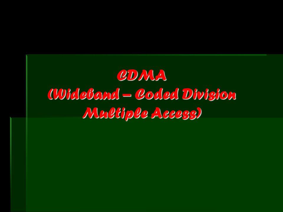 CDMA atau W-CDMA * Mempunyai kelebihan pada kecepatan transfer data yang memcapai 384 Kbps di luar ruangan dan 2 Mbps untuk aplikasi indoor *Generasi ini dapat menyediakan layanan multimedia seperti internet, video streaming, video telephony, dan lain-lain dengan lebih baik.