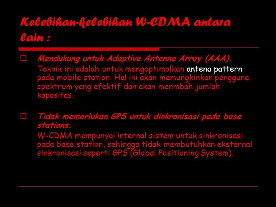 Perbedaan mendasar teknologi GSM dan CDMA  Perbedaan mendasar dari teknologi CDMA adalah sistem modulasinya.