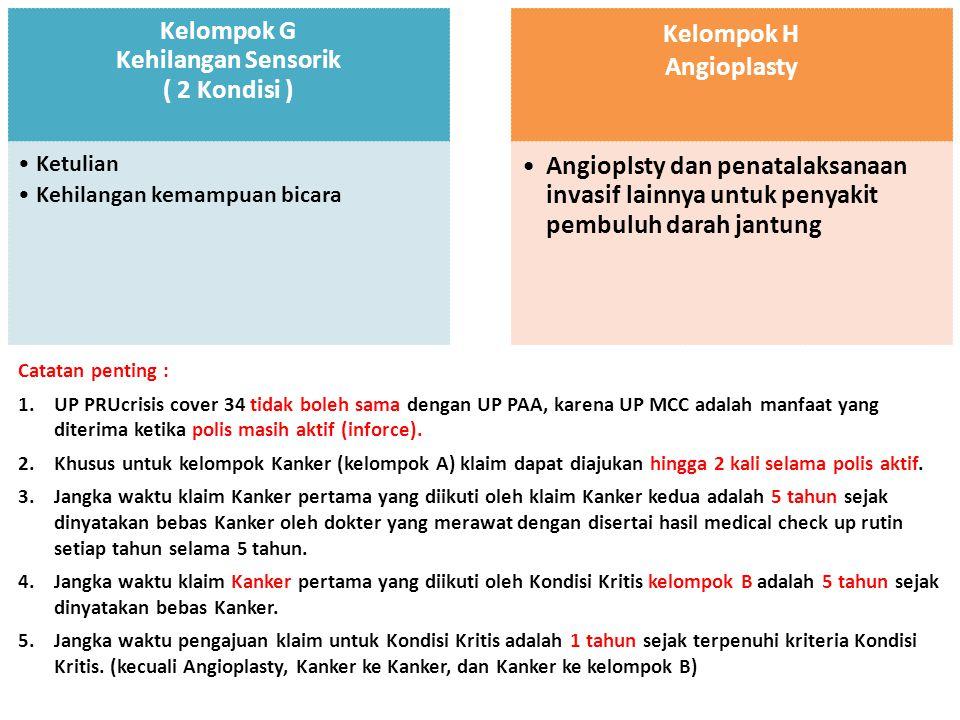 Contoh Klaim 1 PRUmultiple crisis cover 2 klaim dari Kelompok A 1 Juni 1 Jan.