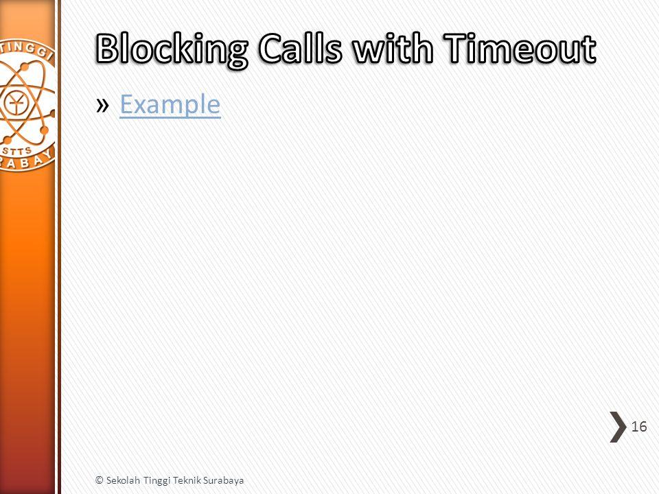 » Example Example 16 © Sekolah Tinggi Teknik Surabaya