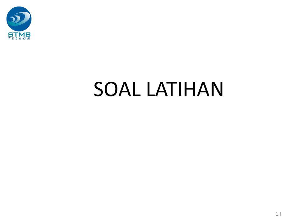 SOAL LATIHAN 14