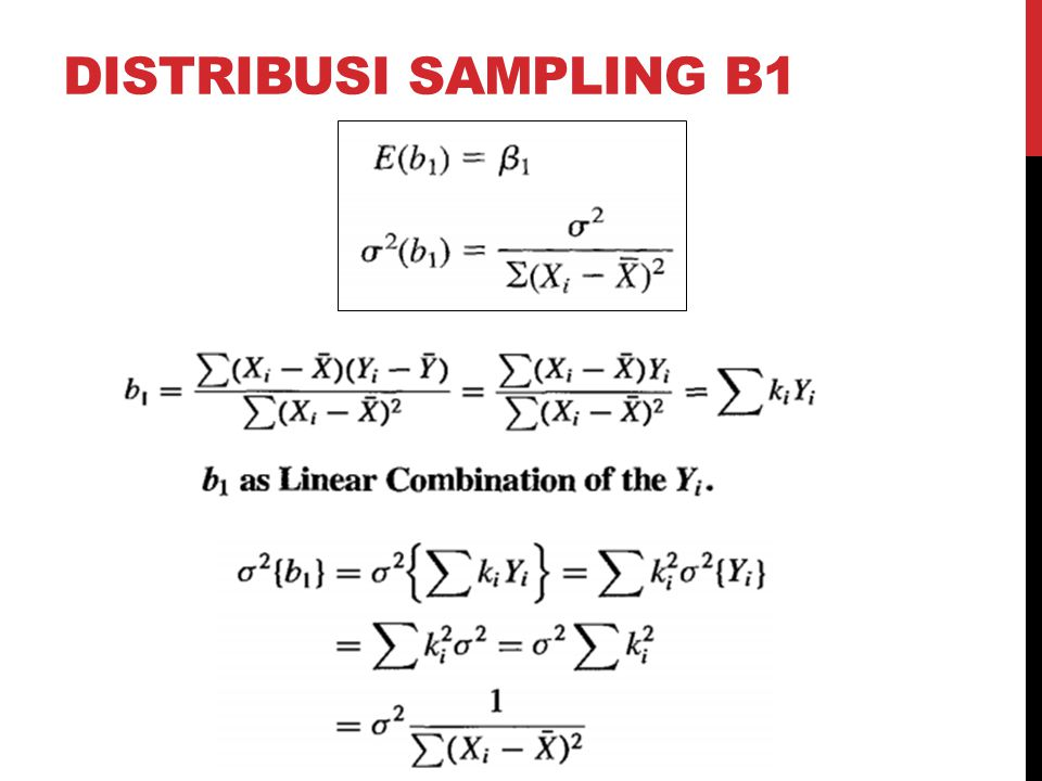 DISTRIBUSI SAMPLING B1