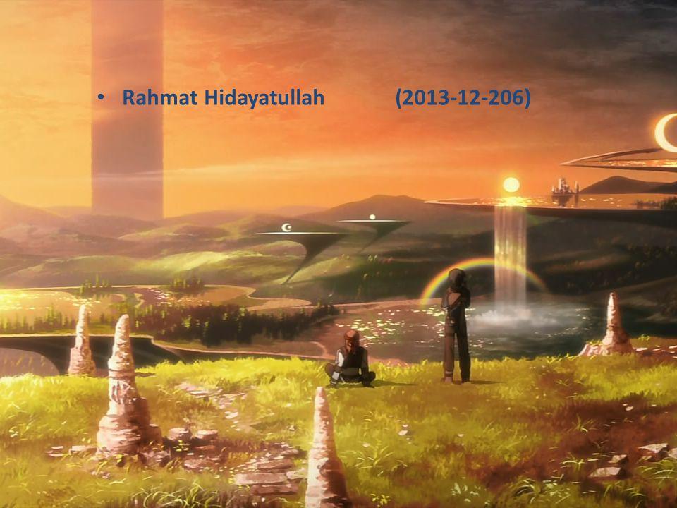 Rahmat Hidayatullah (2013-12-206)