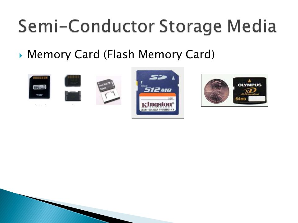  Memory Card (Flash Memory Card)