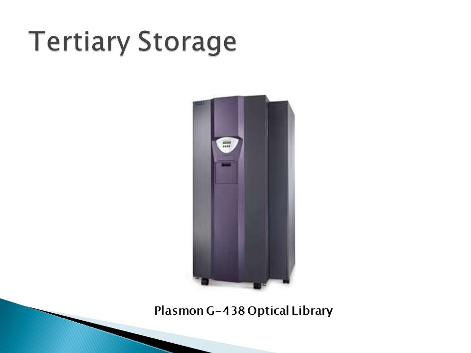 Plasmon G-438 Optical Library