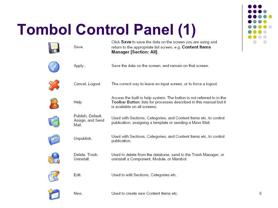 6 Tombol Control Panel (1)