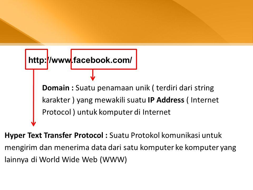 Bagaimana melihat IP suatu website ? Ping : Packet InterNet Groper