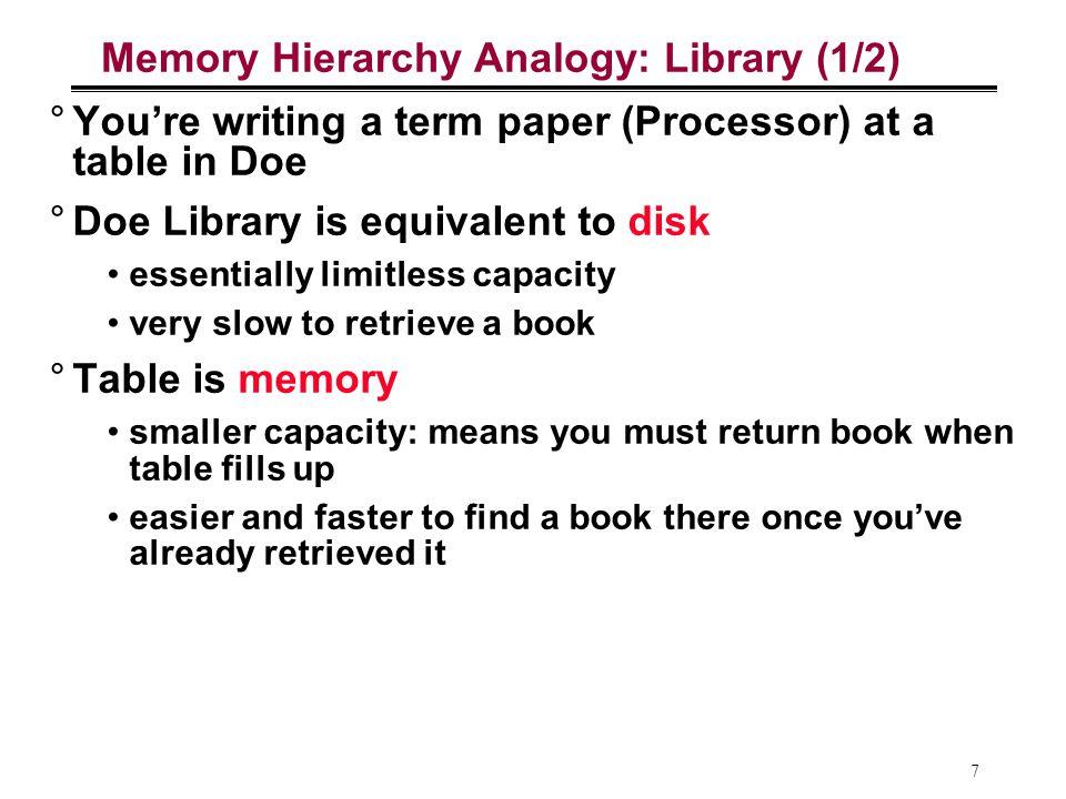 18 Cache: Blok Memory Transfer data antara cache dan memori dalam satuan blok (kelipatan words) Mapping (penerjemahan) antara blok di cache dan di main memory (ingat: cache copy dari main memory) Main Memory Cache To Processor From Processor Blk X Blk Y Hit