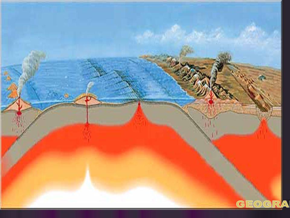 c) Erupsi areal, yaitu magma yang meleleh pada permukaan bumi karena letak Magma yang sangat dekat dengan permukaan bumi,sehingga terbentuk kawah gunu