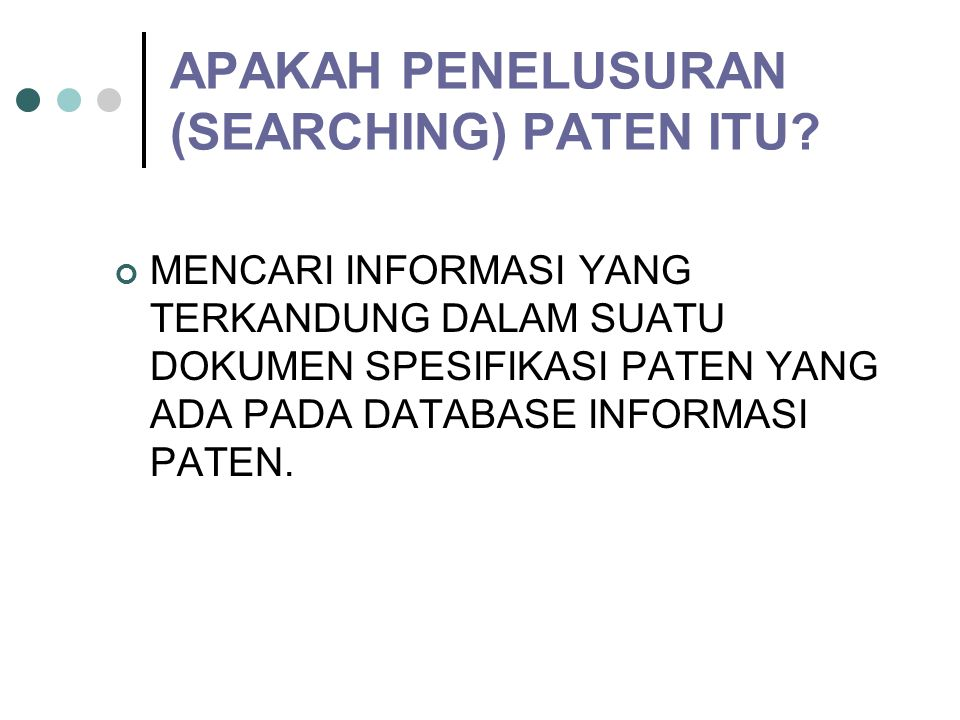 BAGAIMANA SEARCHING PADA DATA BASE KOMPUTER.
