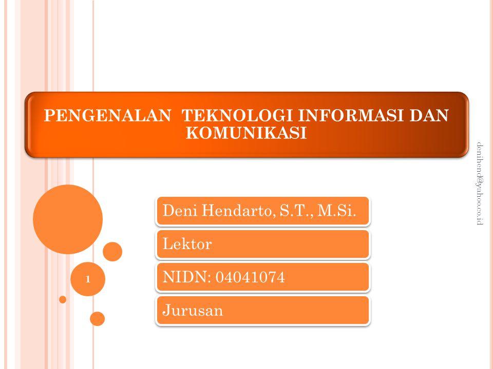 Definisi Teknologi Informasi Apa sebenarnya yang dimaksud dengan teknologi informasi?teknologi informasi Apakah teknologi informasi itu identik dengan komputer.