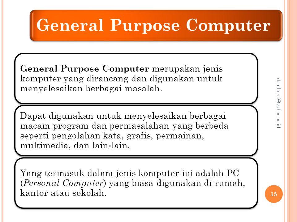 Klasifikasi Teknologi Informasi Menurut Ukuran Selain bentuk fisik sebuah komputer, kemampuannya dapat diukur dari kapasitas memori, kapasitas penyimpanan (harddisk), dan kecepatan prosesor yang dimilikinya.