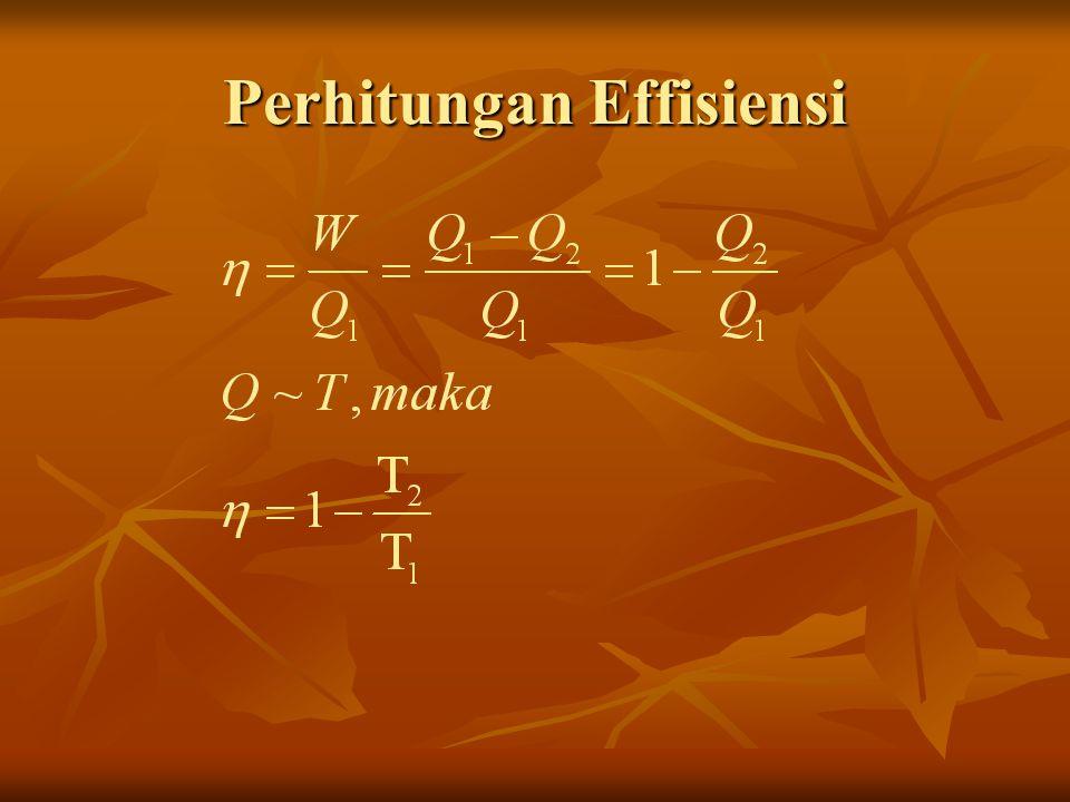 Perhitungan Effisiensi