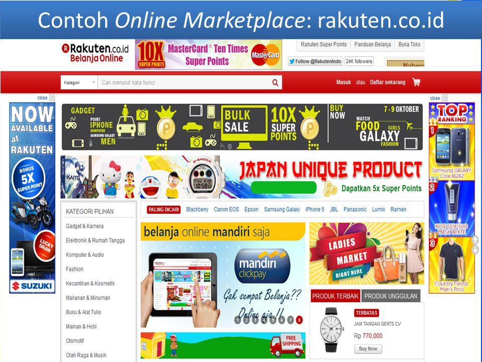 Contoh Online Marketplace: tokopedia.com