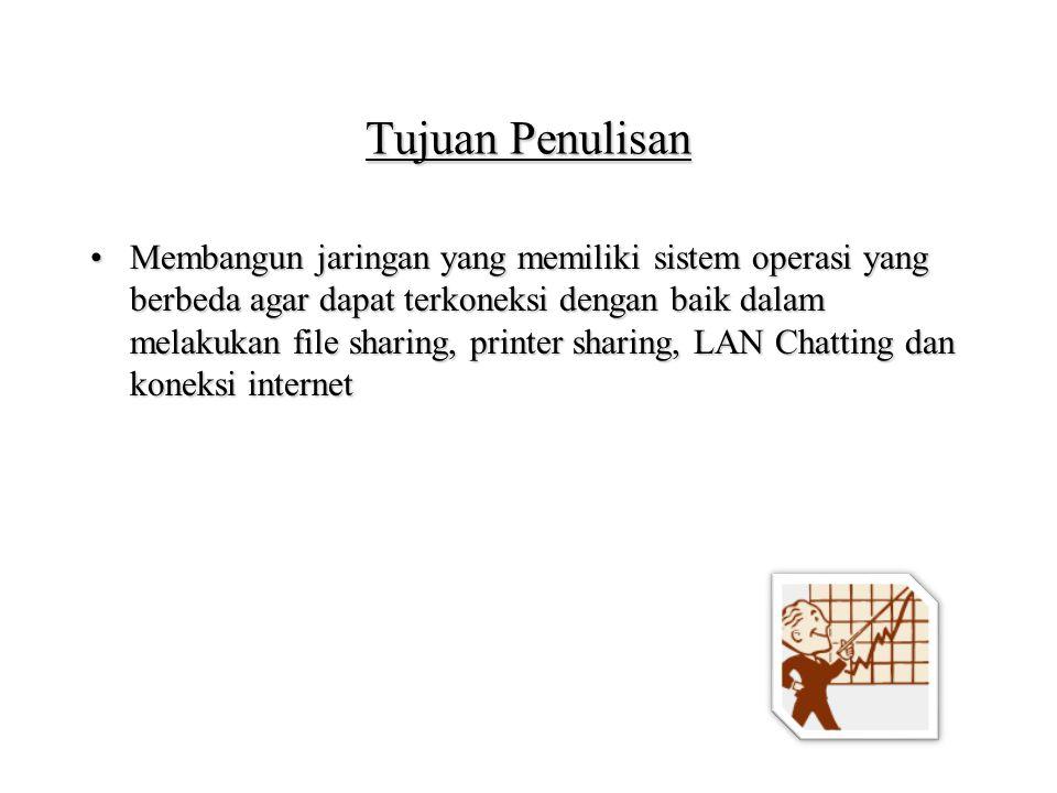 Installasi Lan Chatting Instalasi Pidgin