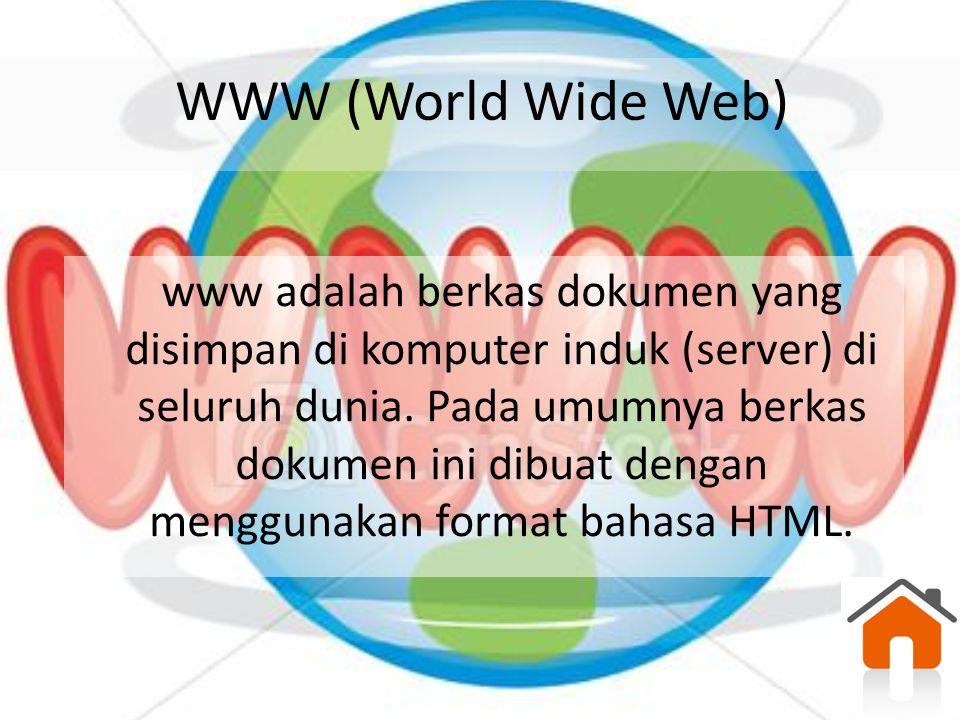 Aplikasi Internet Email Email merupakan aplikasi internet untuk berkomunikasi.