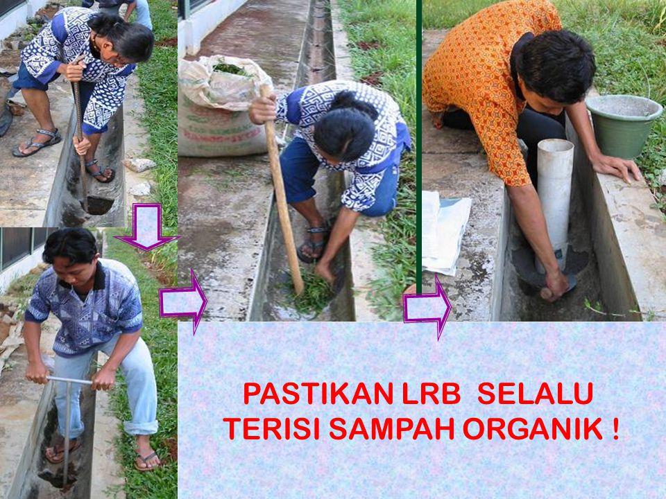 Prepared by CesariaLubang Resapan Biopori 18 PASTIKAN LRB SELALU TERISI SAMPAH ORGANIK !