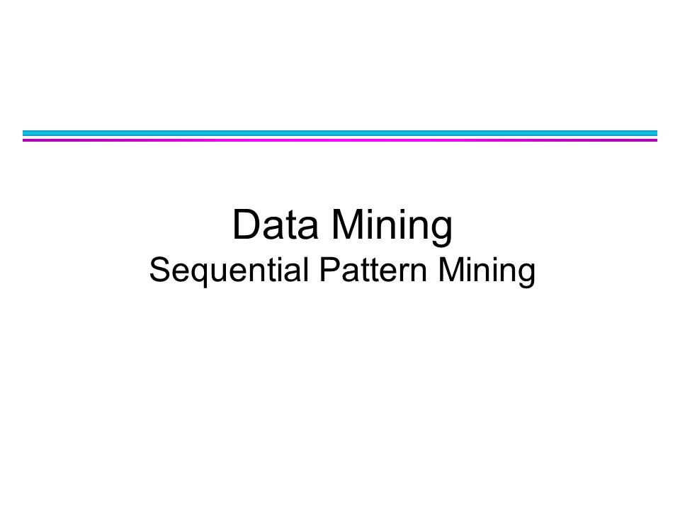 Data Sequence ObjectTimestampEvents A102, 3, 5 A206, 1 A231 B114, 5, 6 B172 B217, 8, 1, 2 B281, 6 C141, 8, 7 Database Sequence: