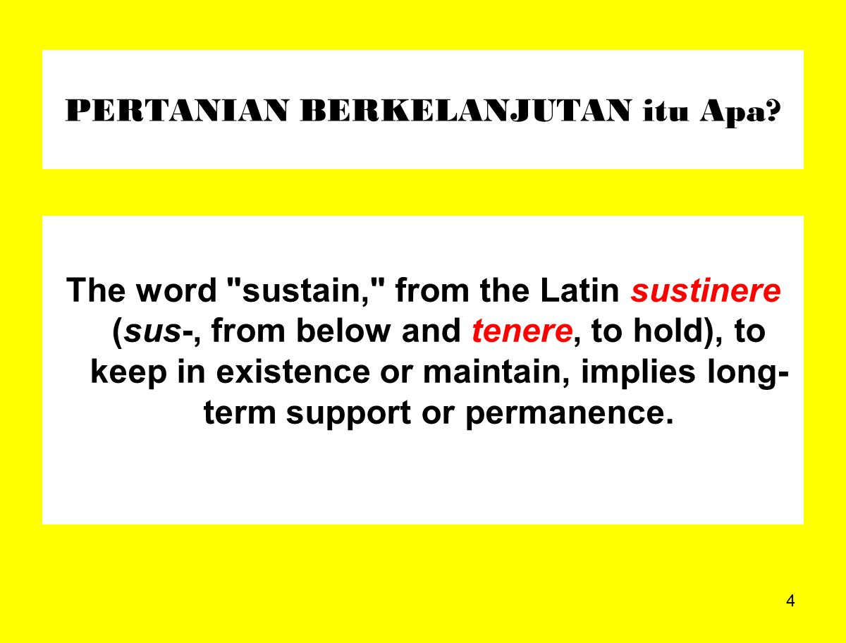 35 PERTANIAN BERKELANJUTAN Social sustainability also includes the quality of life of those who work and live on the farm, including good communication, trust, and mutual support.