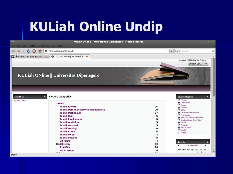 KULiah Online Undip