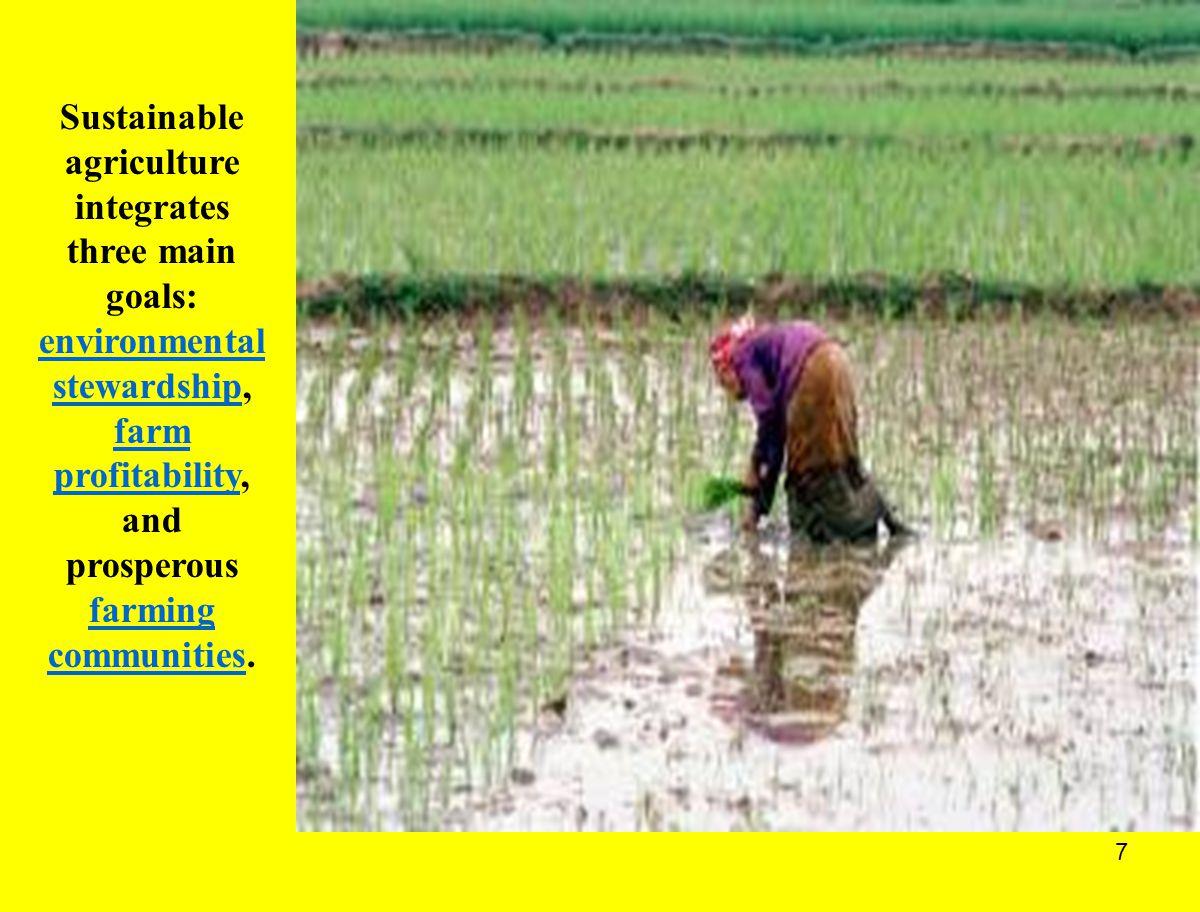 8 KONSEP LOW INPUT PERTANIAN BERKELANJUTAN KONSEP LOW INPUT PERTANIAN BERKELANJUTAN BIOLOGICAL FARMING REGENERATIVE FARMING ECOLOGICAL FARMING NATURAL FARMING BIODYNAMIC FARMING LOW RESOURCES FARMING AGROECOLOGICAL FARMING ECO-AGRICULTURE ECO-FARMING ORGANIC FARMING ALTERNATIVE FARMING