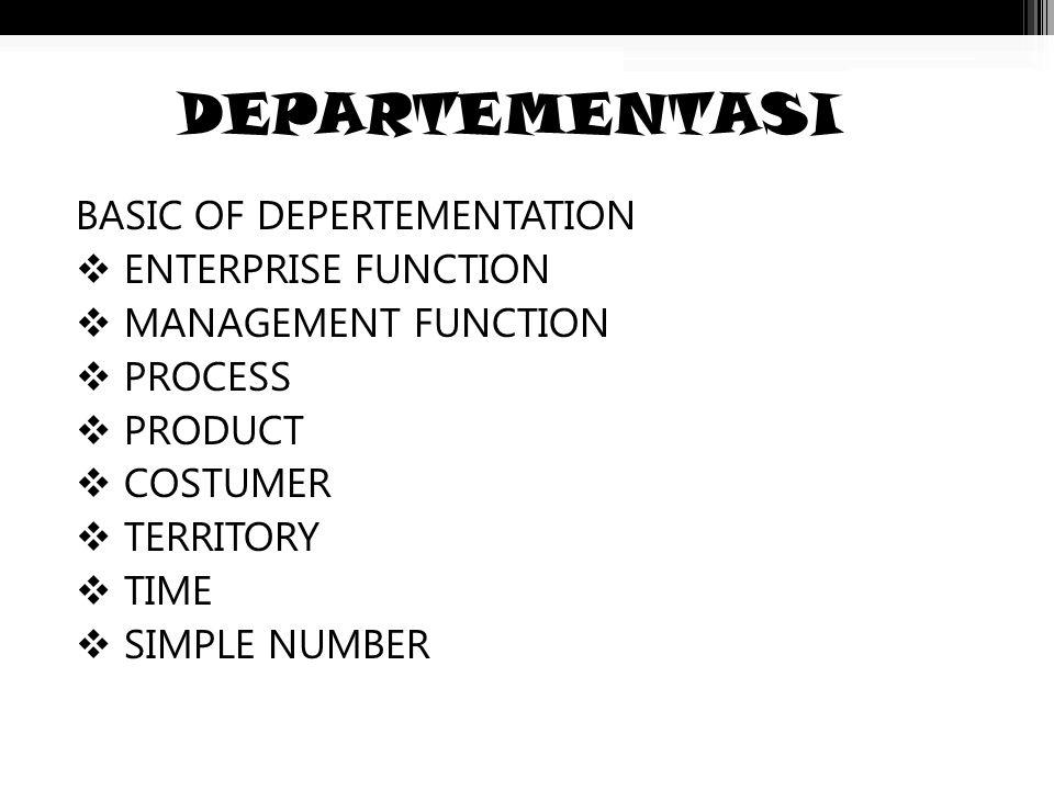 SENTRALISASI DAN DESENTRALISASI SENTRALISASI : Sebagian besar wewenang masih tetap di pegang oleh manager puncak. DESENTRALISASI : Sebagian kecil wewe