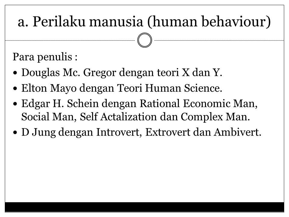 POKOK MASALAH FUNGSI PENGGERAKAN a. Perilaku manusia (human behaviour) b. Motivasi (motivation) c. Kepemimpinan (leadership) d. Komunikasi (communicat