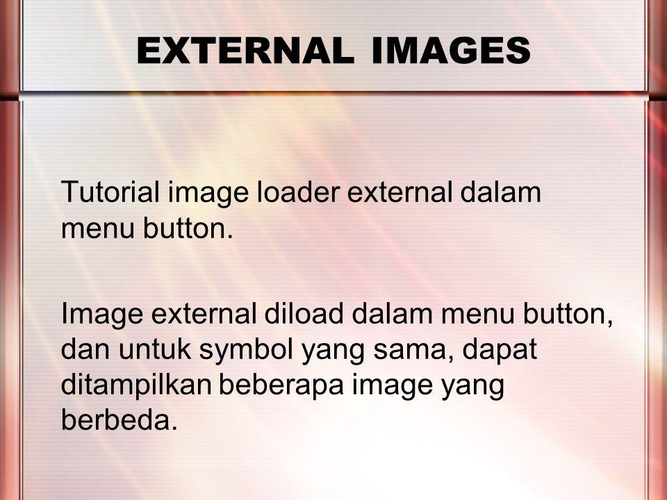 PERTEMUAN 2 DYNAMIC TWEEN Contoh penggunaan dynamic tween dalam menu button.