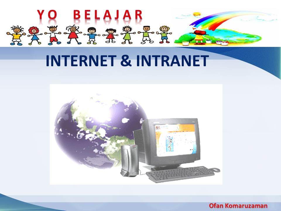 Internet adalah sebuah jaringan komputer yang sangat besar dengan jangkauan seluruh dunia yang menghubungkan komputer- komputer baik yang dimiliki perorangan,perkantoran atau sekolah.