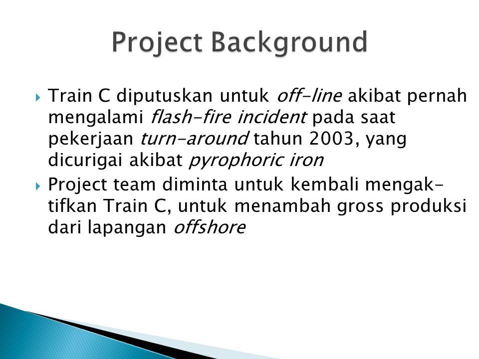 Beberapa Scope Major yang akan dilakukan untuk project C-Train reactivation adalah: 1.