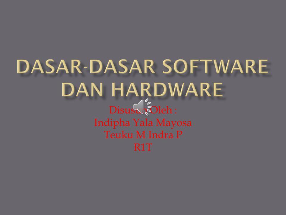 Hard Disk memiliki prinsip kerja yang sama dengan Floppy Disk dan juga memiliki fungsi sebagai penyimpan data.