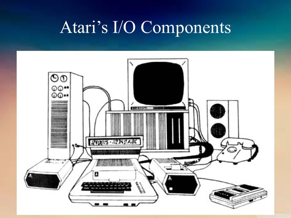Atari's I/O Components