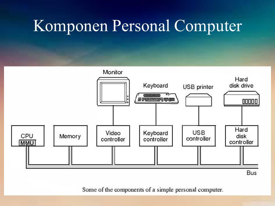 I/O Devices Setiap pengendali akan berbeda untuk setiap perangkatnya.