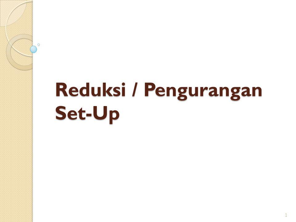 Reduksi / Pengurangan Set-Up 1