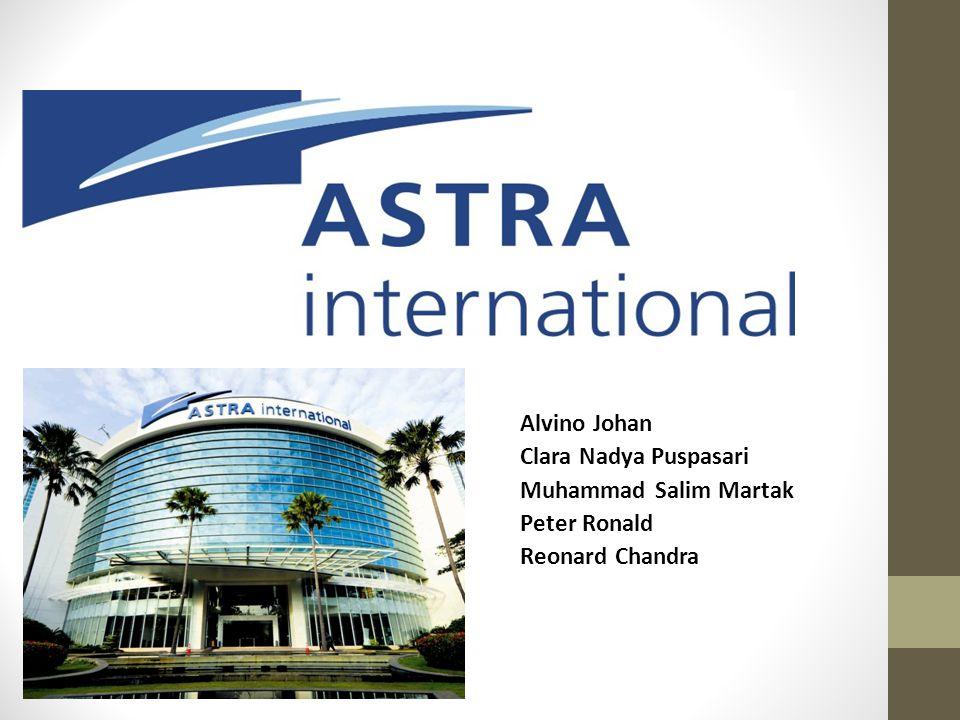 Company Background Astra memulai bisnisnya sebagai perusahaan perdagangan umum dengan nama PT Astra International Inc.