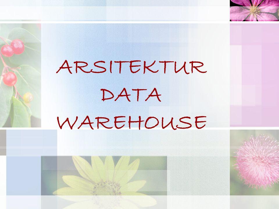 ARSITEKTUR DATA WAREHOUSE