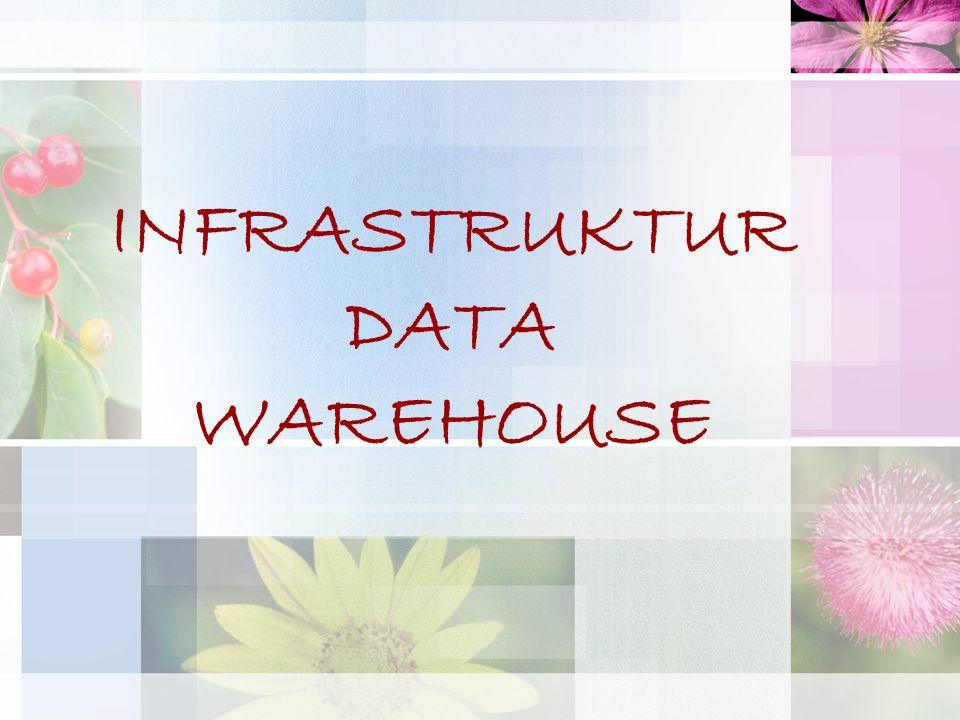INFRASTRUKTUR DATA WAREHOUSE