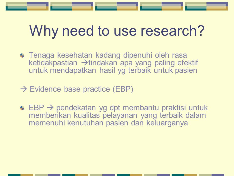 What is EBP.