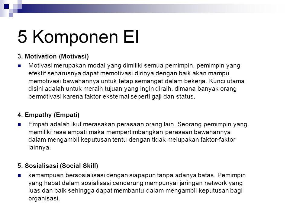 5 Komponen EI 1.