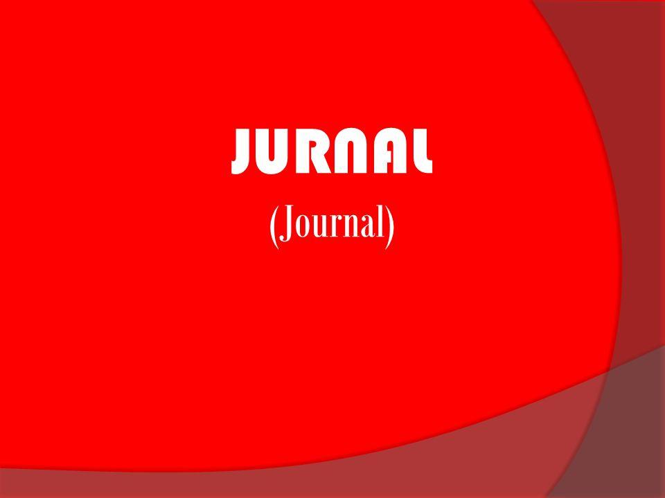 JURNAL (Journal)