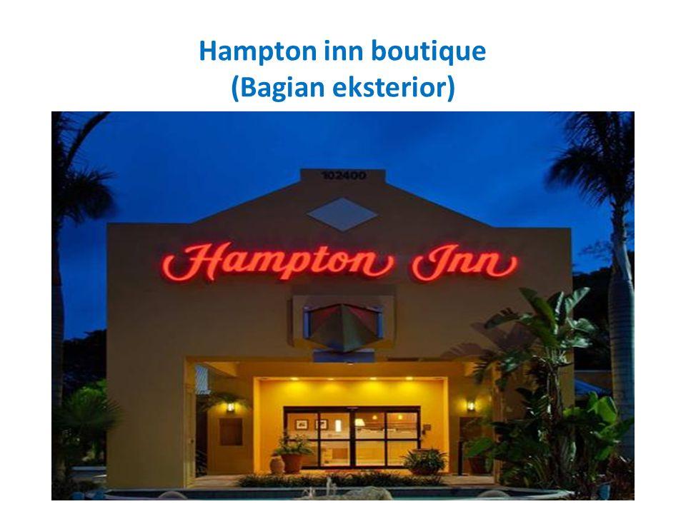 Hampton inn boutique (Bagian eksterior)