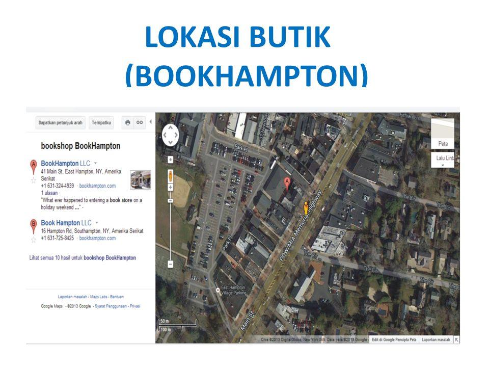 LOKASI BUTIK (BOOKHAMPTON)