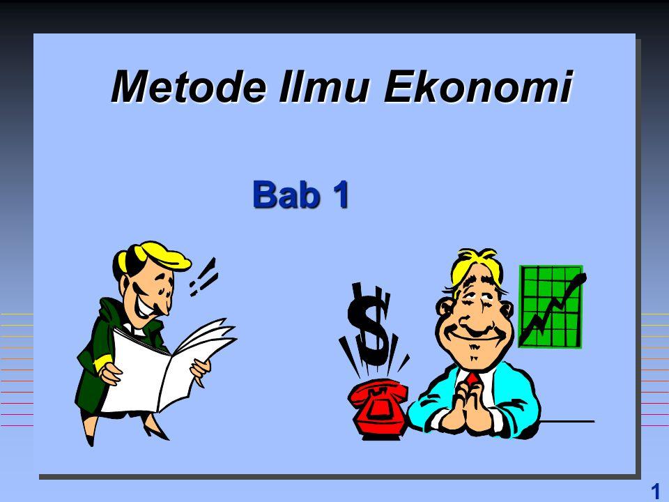 2 Dlm Bab ini akan Dipelajari n Definisi Ilmu Ekonomi n Cara Berfikir Ekonomi n Bagaimana Ahli Ekonomi Menyusun Teori n Perbedaan Antara Ekonomi Mikro dan Ekonomi Makro