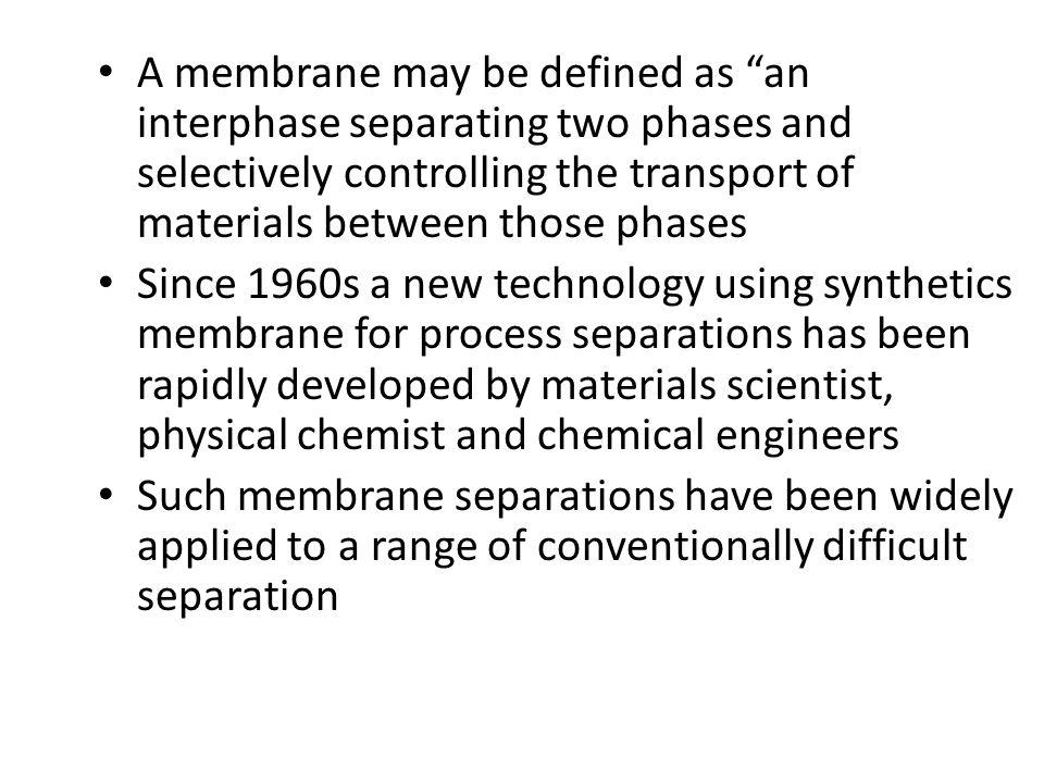 Membrane Permeate RetentateProcessing feed crossflow Figure 1. The Concept of Cross-Flow Filtration