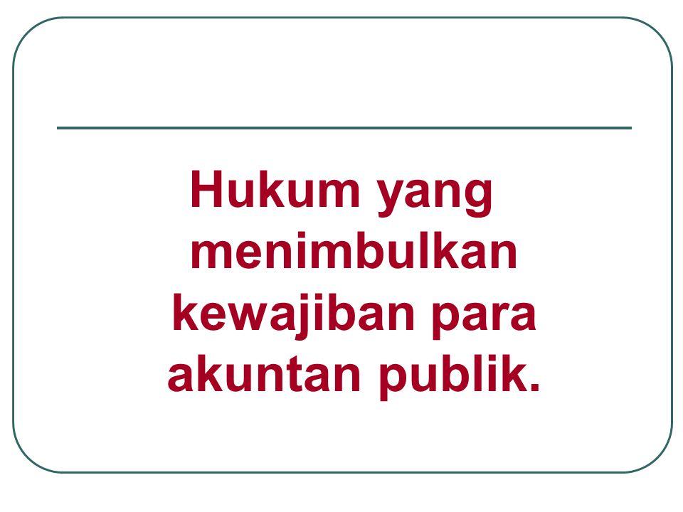 Pembelaan Auditor terhadap tuntutan klien Tidak ada kewajiban (tidak adanya kewajiban untuk melaksanakan) Tidak ada kelalaian dalam pelaksanaan kerja
